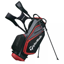 TaylorMade Select Plus standbag - Black/Red