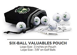 Callaway 6 Ball Pouch with Tee Pack