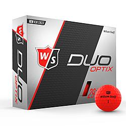 Wilson Staff Duo - Matte Red