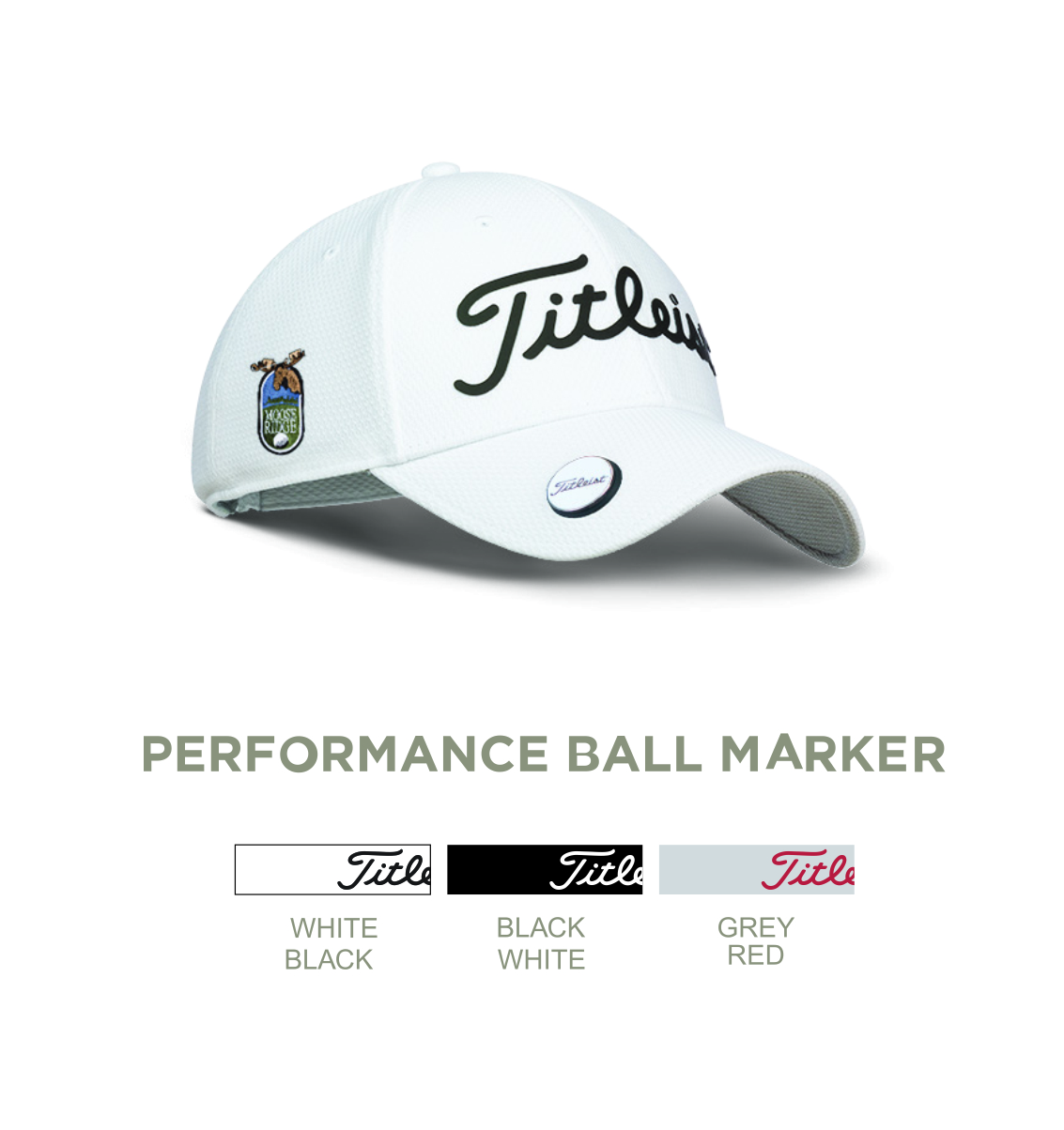 cb7b433d0cf86 Titleist Performance Ball Marker Custom Cap - Titleist Performance Ball  Marker Custom Cap